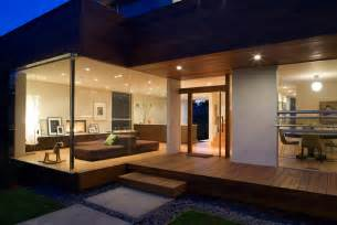 contemporary home interior design house design to get advantage of south climate with indoor outdoor areas digsdigs
