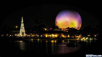 Disney Walt Wallpapers Epcot Christmas Night Picserio