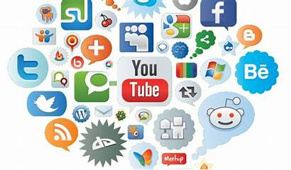 Social Communication Digital Tools Icons Advantage Management