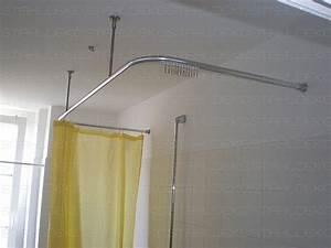 Bad Vorhang Stange : duschvorhang von der decke wi39 hitoiro ~ Michelbontemps.com Haus und Dekorationen