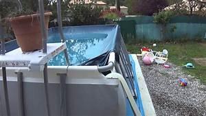 Preparation Terrain Pour Piscine Hors Sol Tubulaire : comment vider sa piscine de 13100 litres youtube ~ Melissatoandfro.com Idées de Décoration