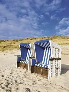 Urlaubsfeeling im Garten mit Strandkorb Sylt Wohnen