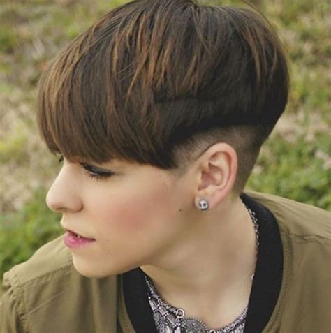 undercut frauen 2017 10 trendy bowl cuts and styles hairstyle ideas 2019