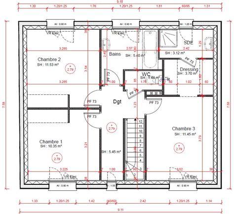 plan chambre parentale avec salle de bain et dressing plan chambre parentale dressing et gascity for