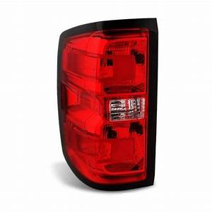 2014 2015 Chevy Silverado Left Drivers Side Tail Lamp Lens