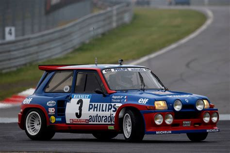 renault 5 maxi turbo world series by renault 2014 jean ragnotti s show in his