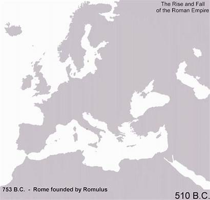 Roman Empire Rise Fall Map Animated Rome