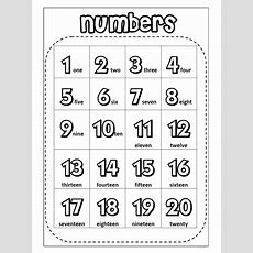 120 Number Chart For Preschool  Alphabet And Numbers Learning  Number Chart, Numbers