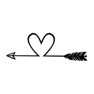 fancy arrow clipart black and white silhouette design view design 179812 arrow