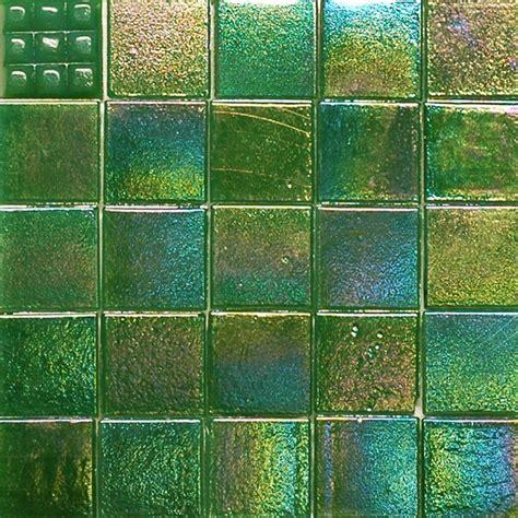 hakatai green iridescent tile vine green cg1632 iridescent glass mosaic