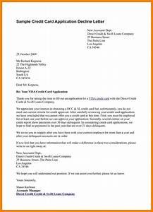 Credit Card Order Form Template 13 Credit Denial Letter Bank Statement