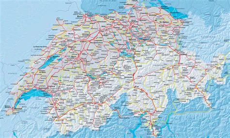 Carte Suisse by Suisse G 233 Ographie