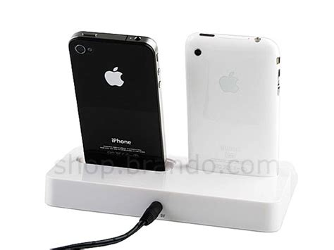 dual iphone charger simple iphone ipod charger station gadgetsin