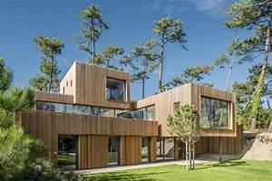 Belle Maison Bois Par Kitmaisonbois   Les 10 Plus Belles