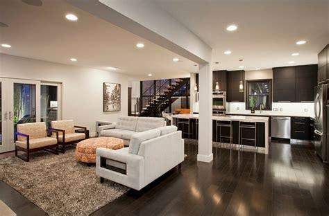plan salon cuisine sejour salle manger 3 int233rieur contemporain 224 plan ouvert avec