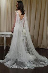 14 cape wedding dresses for a trendy and new bridal look With cape for wedding dress
