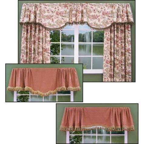 Curtain Valance Styles by Two Valance Styles Fit Any Size Window Windows