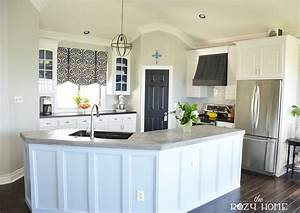 Remodelaholic diy refinished and painted cabinet reviews for Kitchen colors with white cabinets with where can i buy stickers