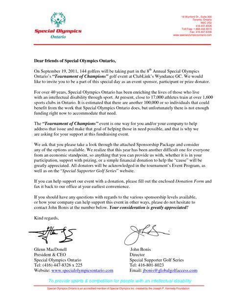 sle letter for sponsorship charity letter for sponsorship 28 images sle donation 50709