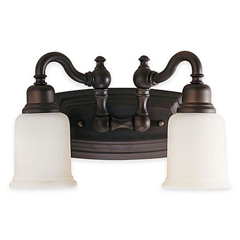 Buy Bathroom Fixtures by Buy Feiss 174 Canterbury 2 Light Bath Vanity Fixture In