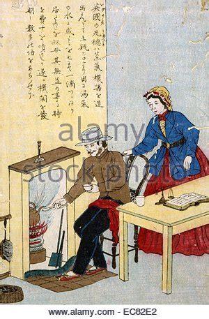 James Watt inventor of the steam engine Japanese print