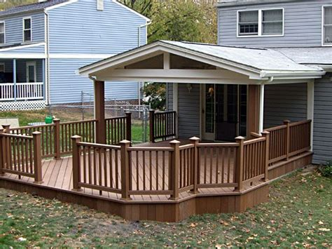 covered  porch designs covered deck ideas
