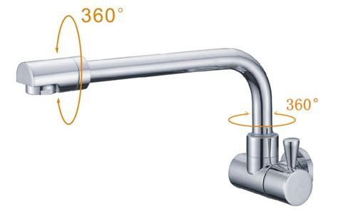 Free Shipping In Wall Kitchen Faucet For Kitchen Single