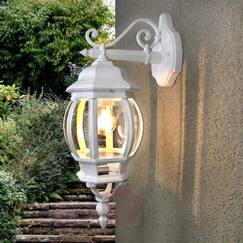 Theodor Outside Wall Light White Lightscouk