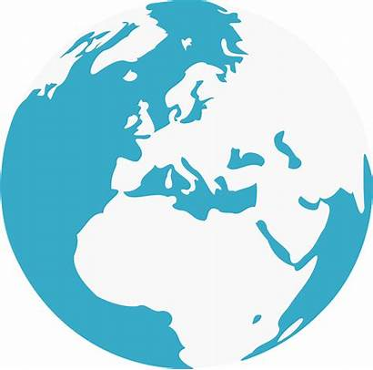Earth Globe Round Europe Africa Continent Vector