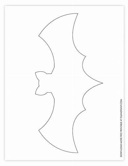 Bat Template Printable Halloween Printables Decorations Diy