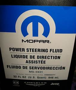 U0026quot Supertech U0026quot  Power Steering Fluid - Good Or No-no
