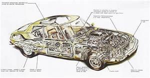 Citroen Sm Cutaway Diagrams