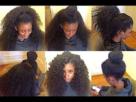 Versatile Sew In Hairstyles by 2 Part Horizontal Versatile Sew In Nyc Hairrrr