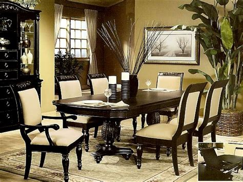 black dining room table set cottage dining room set black pedestal dining room table