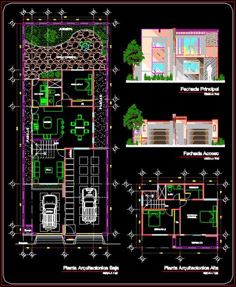 level plan   house  autocad  cad