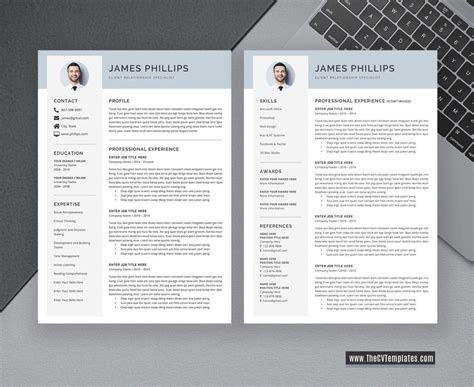 Check out these teaching résumé examples and templates for some quick and easy inspiration in your job hunt, and find the perfect sample cv. Clean CV Template for Job Application, Simple CV Format ...
