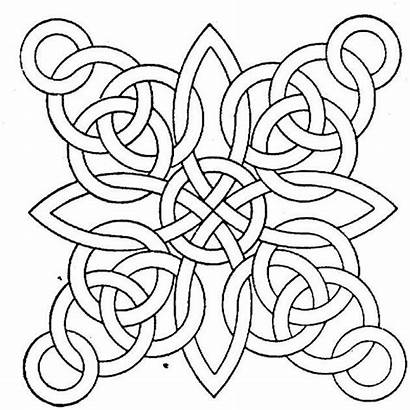 Coloring Pages Printable Geometric Adults Sheet Patterns