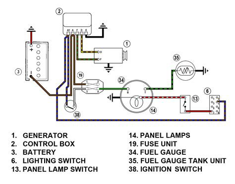 Spridgetguru Tech Index Fuel Gauge Wiring Diagram