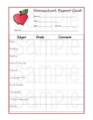 homeschool report card template 5 reasons homeschoolers should use report cards printable report cards