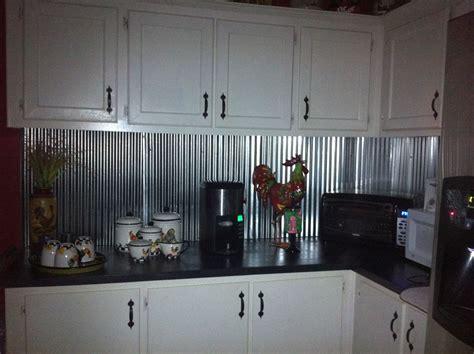 Metal Backsplash Kitchen by Corrugated Metal For Backsplash I Want To Do This Looking