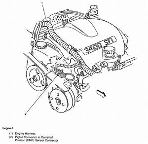 2005 Buick Rendezvous Parts Diagram Crank Sensor Picture