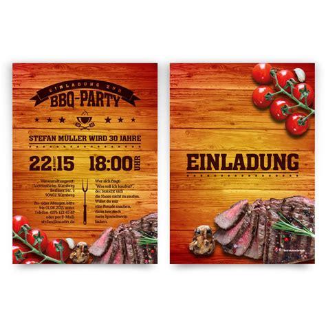 barbecue bbq party einladungskarten