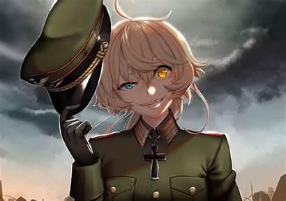 Anime Senki Youjo Nazi Tanya Evil Degurechaff