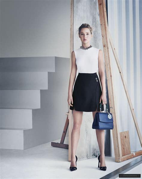 Jennifer Lawrence Dior Springsummer 2015 Promos