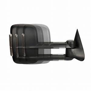 New Passenger Side Manual Towing Mirror For Chevrolet