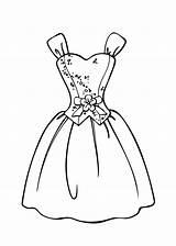Coloring Barbie Printable Princess Gown Makeup Olds sketch template