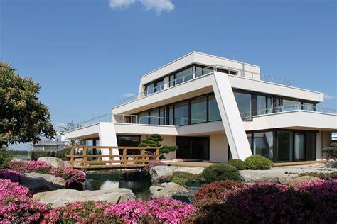 Luxushaus Bauen Neubau by Modernes Luxushaus Bauen Luxusvilla Neubau Mit Flow Avec
