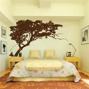 Large wall tree decal forest decor vinyl sticker highly for Awesome big wall decals for bedroom