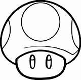 Mushroom Mario Sketch Coloring Printable Pages Paintingvalley Sketches sketch template