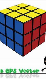 Rubik's Cube Vector material Download Free Vector,PSD ...